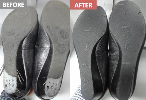 靴底before-after