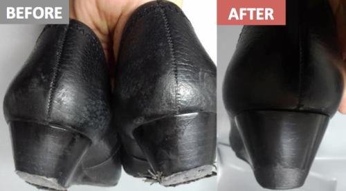 靴底before-after_後ろから